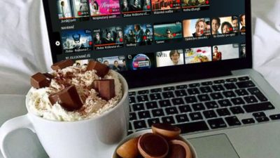 hot chocolate in bed with LTV lepsi.tv